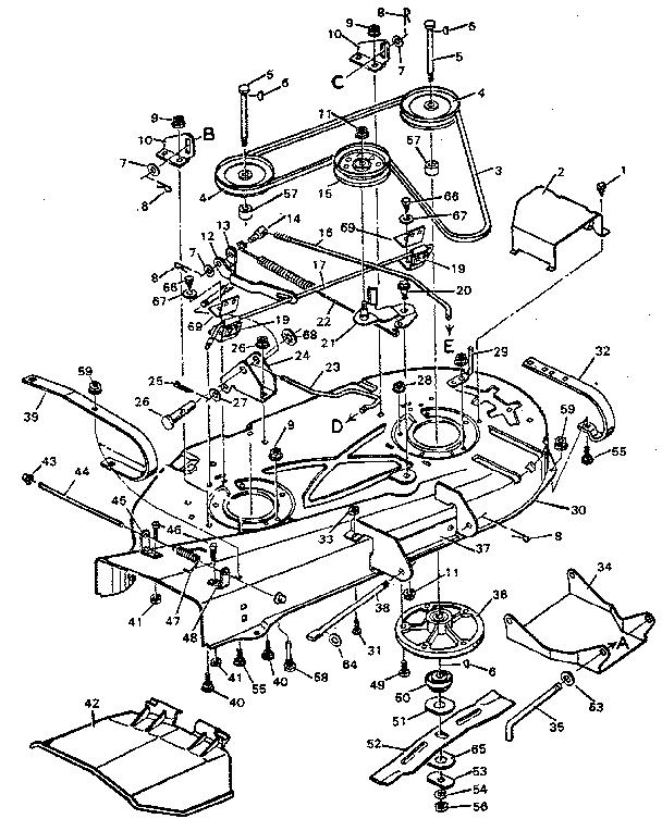 Craftsman Lawn Mower Parts Diagram