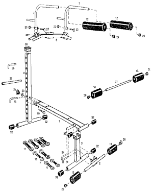 STAMINA 1000 MINI GYM Parts | Model GYM1000 | Sears