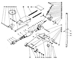 CRAFTSMAN HYDRAULIC FLOOR JACK Parts | Model 1216 | Sears PartsDirect