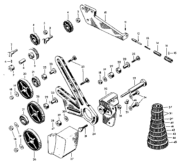 Jet Drill Press Parts Diagram