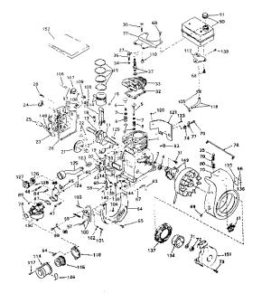 TECUMSEH TECUMSEH 4CYCLE ENGINE Parts | Model H3035176J