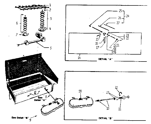 Coleman 425f499 Camping Parts Sears