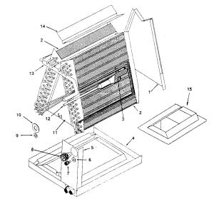 KENMORE EVAPORATOR COIL Parts | Model 867804521 | Sears