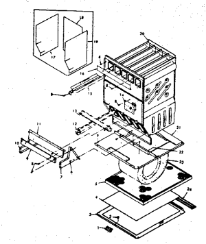 HEAT EXCHANGER763322 Diagram & Parts List for Model
