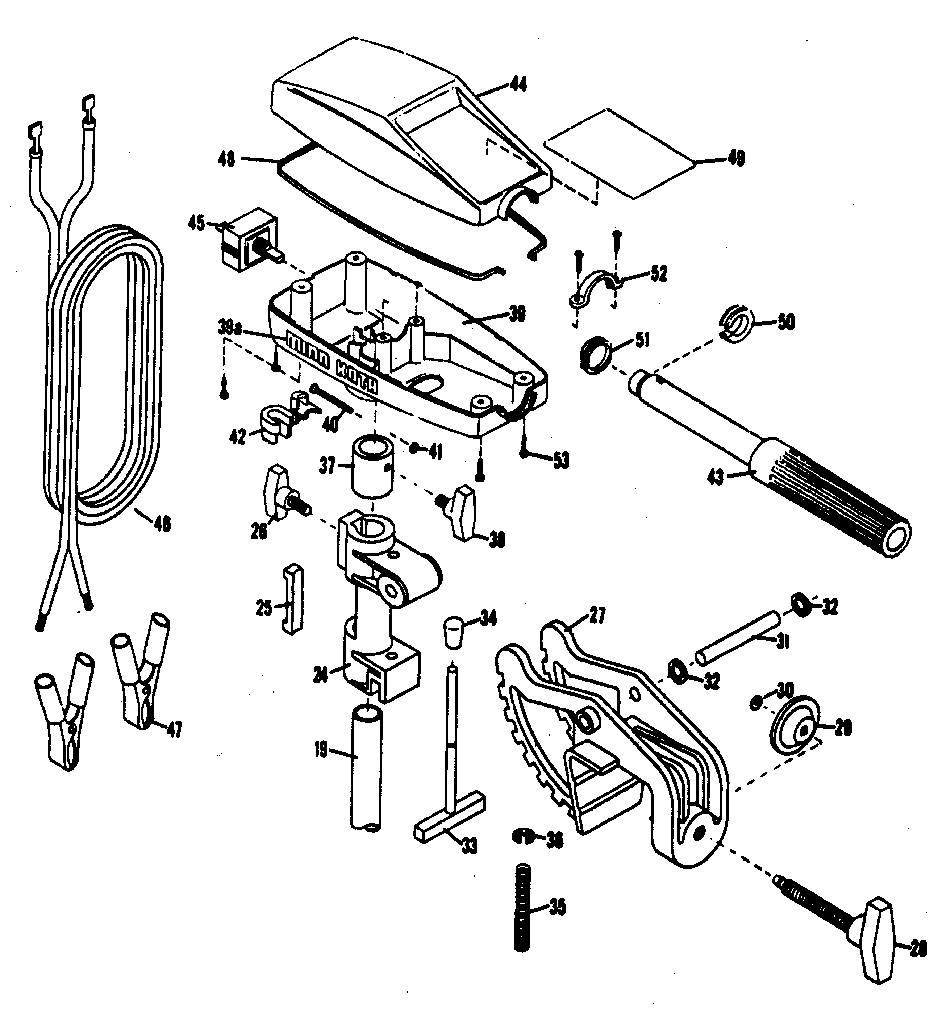 Attractive wiring diagram with trolling motor 36 volt charger motif