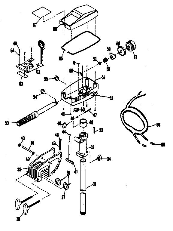 00042605 00001?resize=576%2C768 omc trolling motor wiring diagrams wiring diagram,Wiring A Minn Kota Trolling Motor Plug