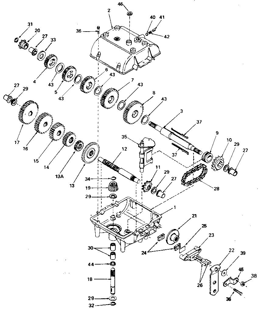 Array peerless transaxle parts diagram 47167 auto wiring diagram today u2022 rh autodiagram today
