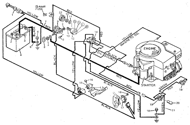 briggs and stratton wiring diagram hp wiring diagrams 12 hp briggs stratton diagram home wiring diagrams