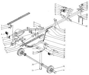 SEARS 600 LB BOAT TRAILER Parts | Model 371619600 | Sears