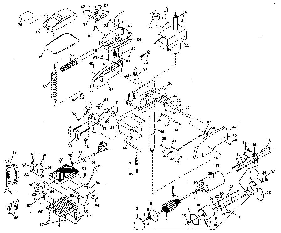 Minn Kota Endura C2 30 Parts Diagram