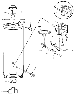 Reliance 606 Water Heater Parts | Wiring Diagram And