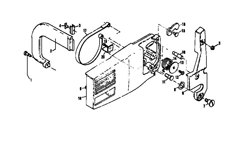 Mac 3200 Chainsaw Diagram