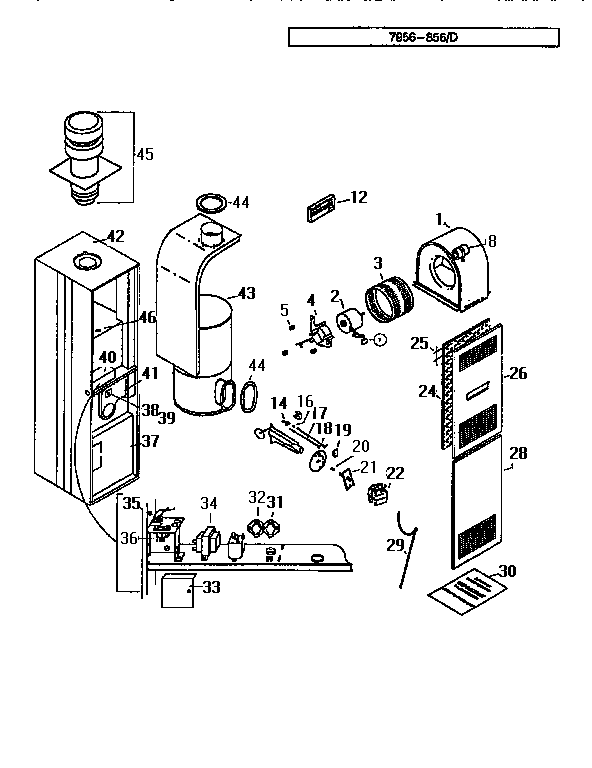 Wiring Diagram 3500a816 Furnace Control Transformer