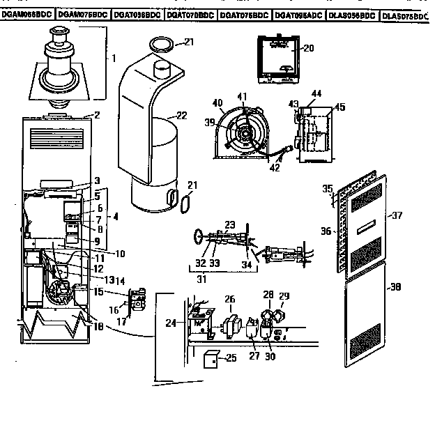 10042920 00001?resize=624%2C640&ssl=1 coleman evcon furnace eb17b wiring diagram coleman manufactured coleman eb17b wiring diagram at mifinder.co