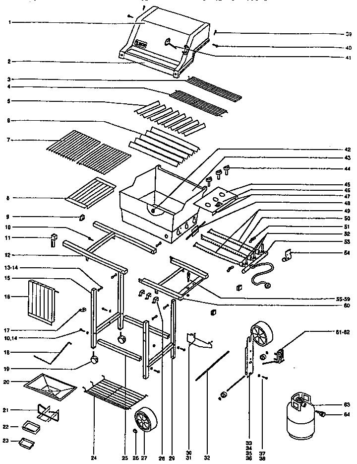 Weber Genesis 1000 Gas Grill Parts