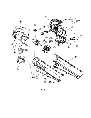 Wiring Diagram For Electric Leaf Blower   Wiring Library