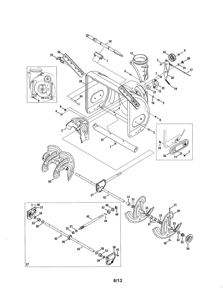 Model 247883951 | CRAFTSMAN SNOW THROWER Parts