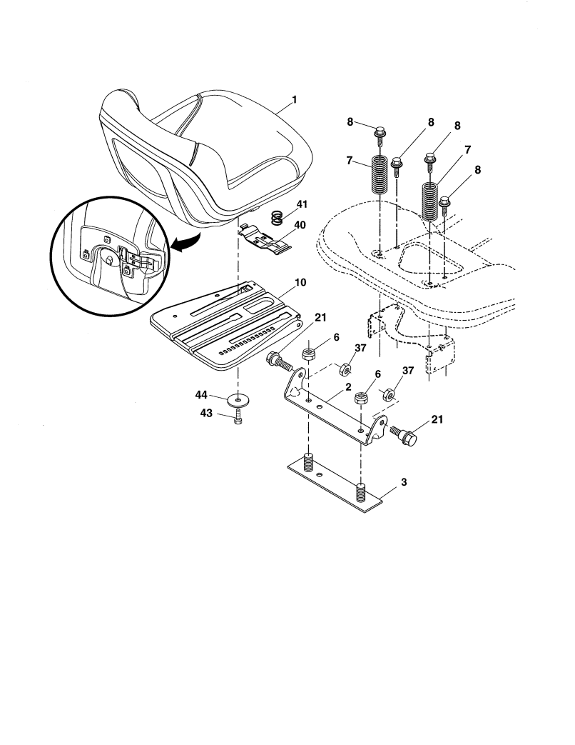 Lawn Tractor Parts
