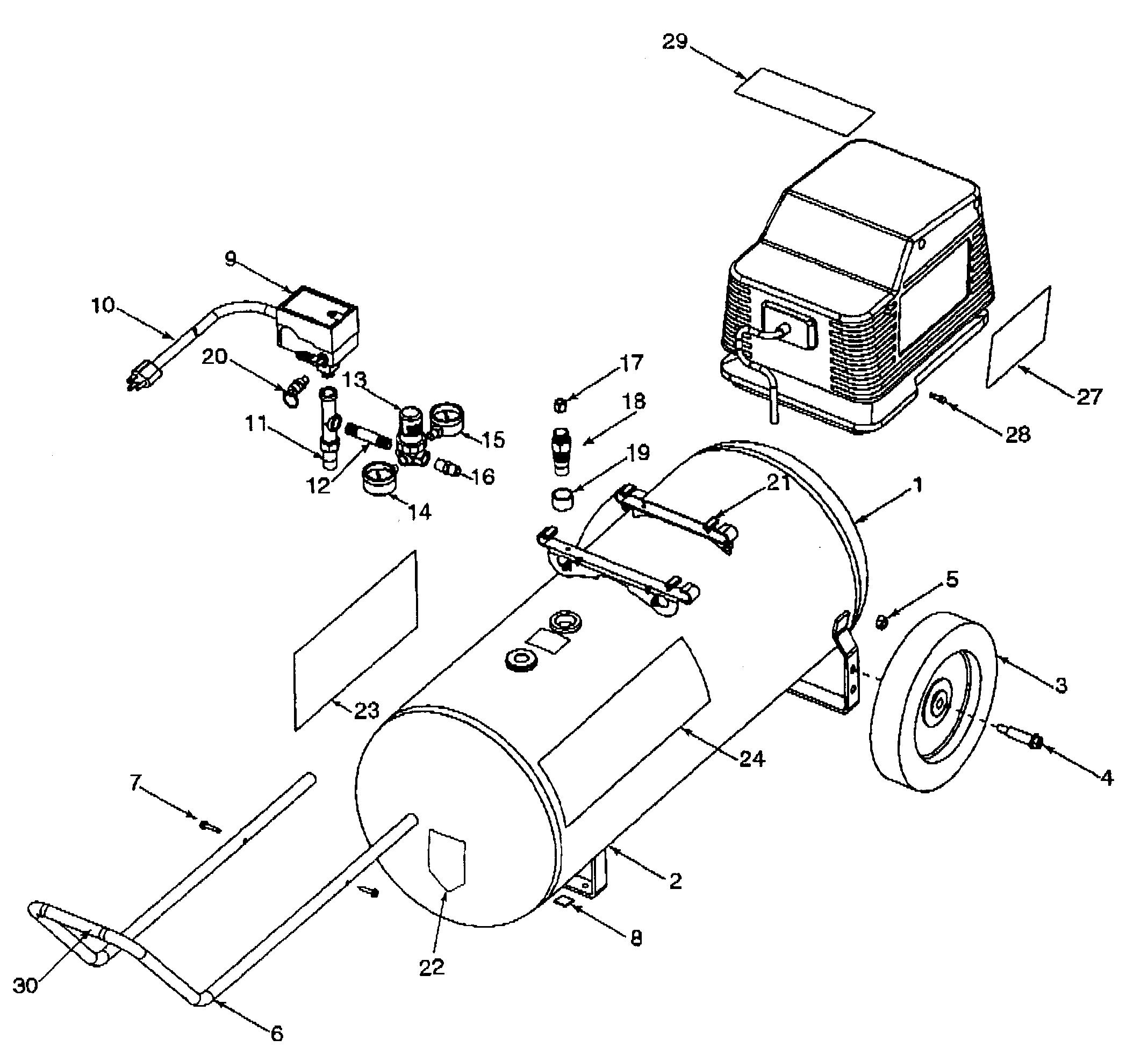 Great craftsman air pressor parts craftsman air pressor parts 2136 x 1961 · 45 kb ·