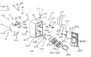 Haier Refrigerator Parts Diagram  Image Refrigerator