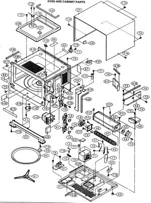 SHARP MICROWAVE Parts | Model R630DKA | Sears PartsDirect