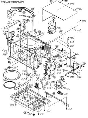 SHARP MICROWAVE Parts   Model R330EW   Sears PartsDirect
