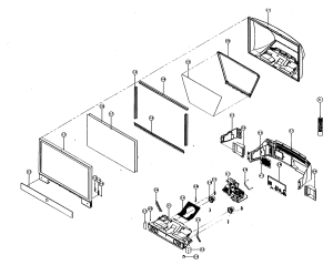 SAMSUNG Dlp Cabi Parts | Model HLN617W1X | SearsPartsDirect