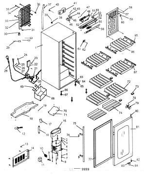 HAIER WINE CELLAR Parts   Model HVD042E3S   Sears PartsDirect