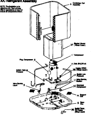 ICP AC UNIT Parts | Model c4a424gka100 | Sears PartsDirect