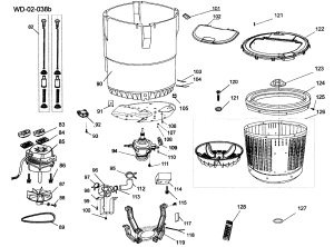 TUBE ASSY Diagram & Parts List for Model hlt364xxq HaierParts WasherParts   SearsPartsDirect