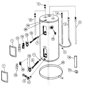 Ao Smith Gas Water Heater Wiring Diagram  Wiring Diagram