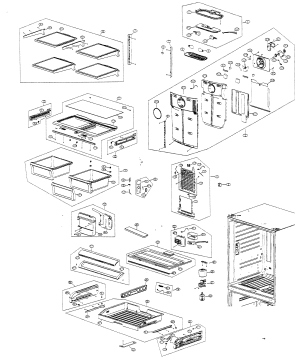 SAMSUNG Refrigerator Parts | Model RF266ABWPXAA | Sears