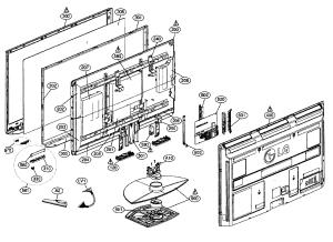 LG PLASMA TELEVISION Parts | Model 50PQ30 | Sears PartsDirect