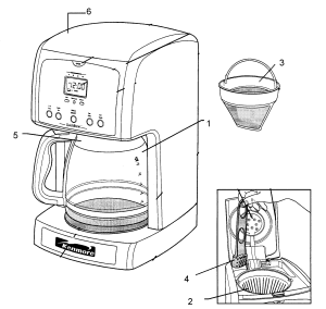 KENMORE COFFEE MAKER Parts | Model 10082696 | Sears