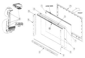 MITSUBISHI DLP TELEVISION Parts | Model WD60638 | Sears