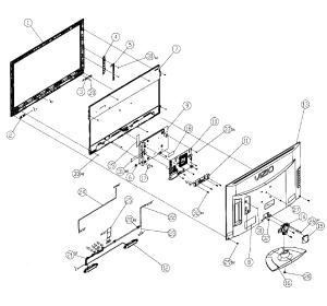 VIZIO LED TELEVISION Parts | Model M260VP | Sears PartsDirect