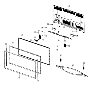 SAMSUNG PLASMA TV Parts | Model PN64F8500AFXZAUS01 | Sears