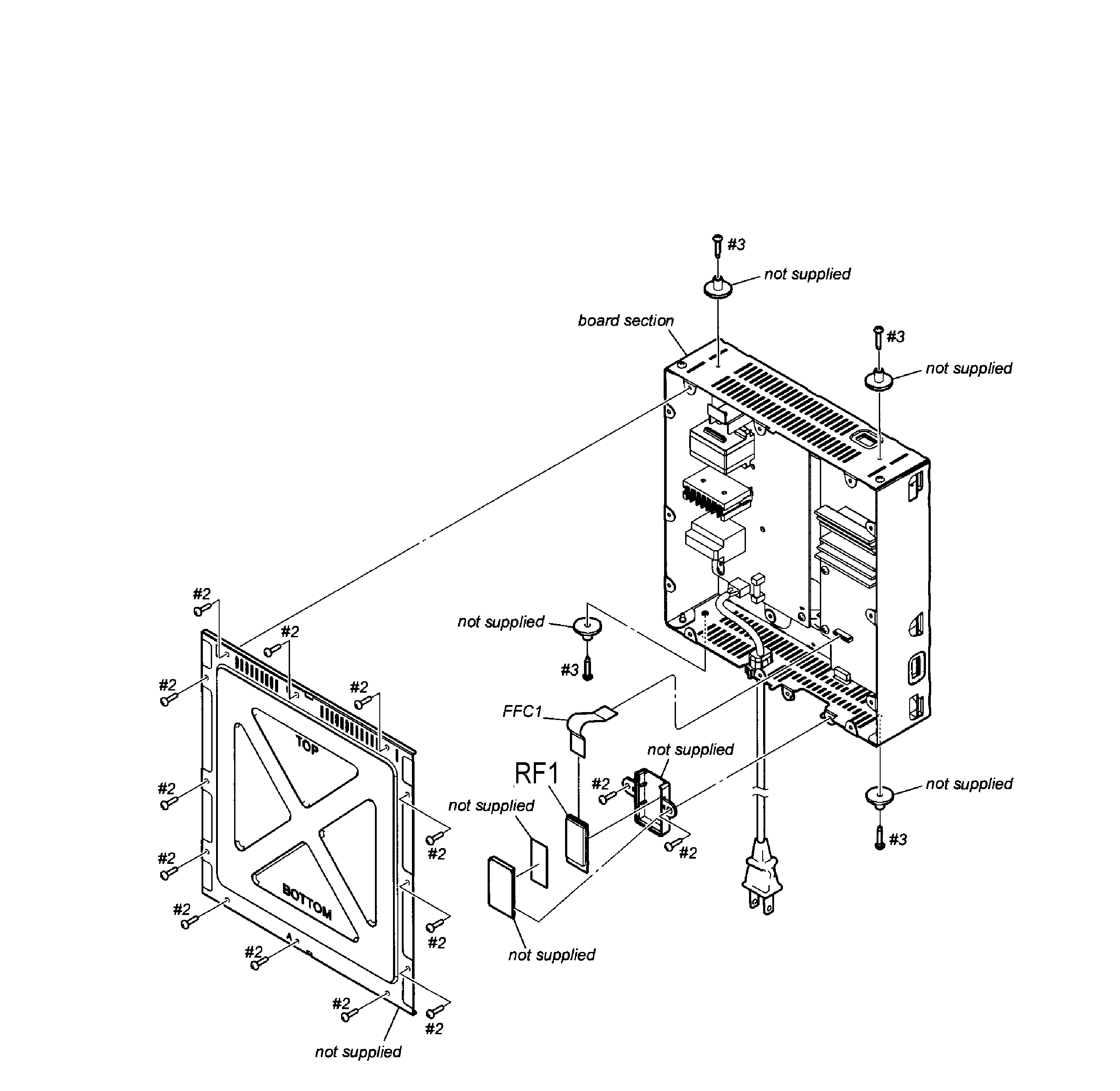 Speaker parts diagram and parts list for sony audioequipmentparts