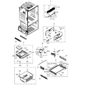 Samsung Rf267abrs Refrigerator Schematic Diagrams  Wiring Source