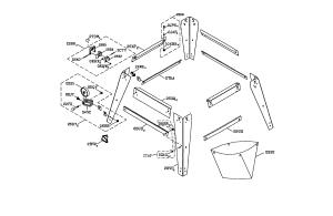 LEG SET Diagram & Parts List for Model 137218073 Craftsman