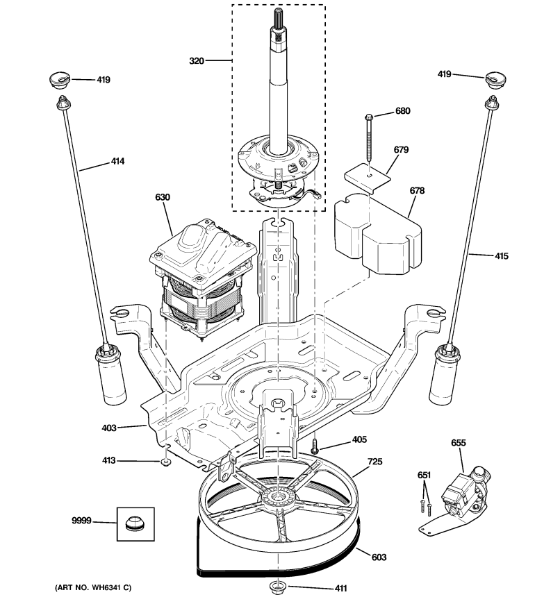 7776 Ge Washing Machine Motor Wiring