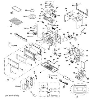 GE MICROWAVE Parts | Model JNM1851DM3BB | Sears PartsDirect