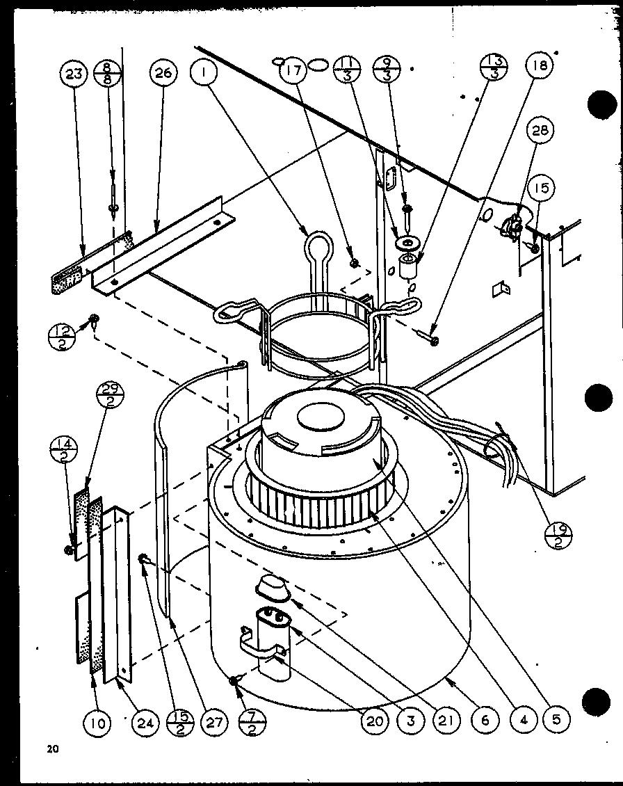 Amana gsi gas furnace gsi45a25 p6983310f parts