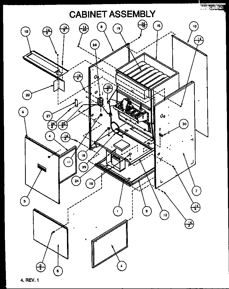 Images of hvac parts by model number service manual