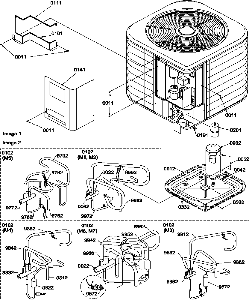 Amana air conditioning parts model rhe30a2ap1217403c sears rh searspartsdirect air conditioner parts diagram hvac parts breakdown