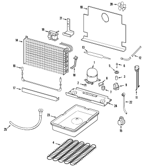 MAYTAG MAYTAG UPRIGHT FREEZER Parts | Model mqu2057aew | Sears PartsDirect