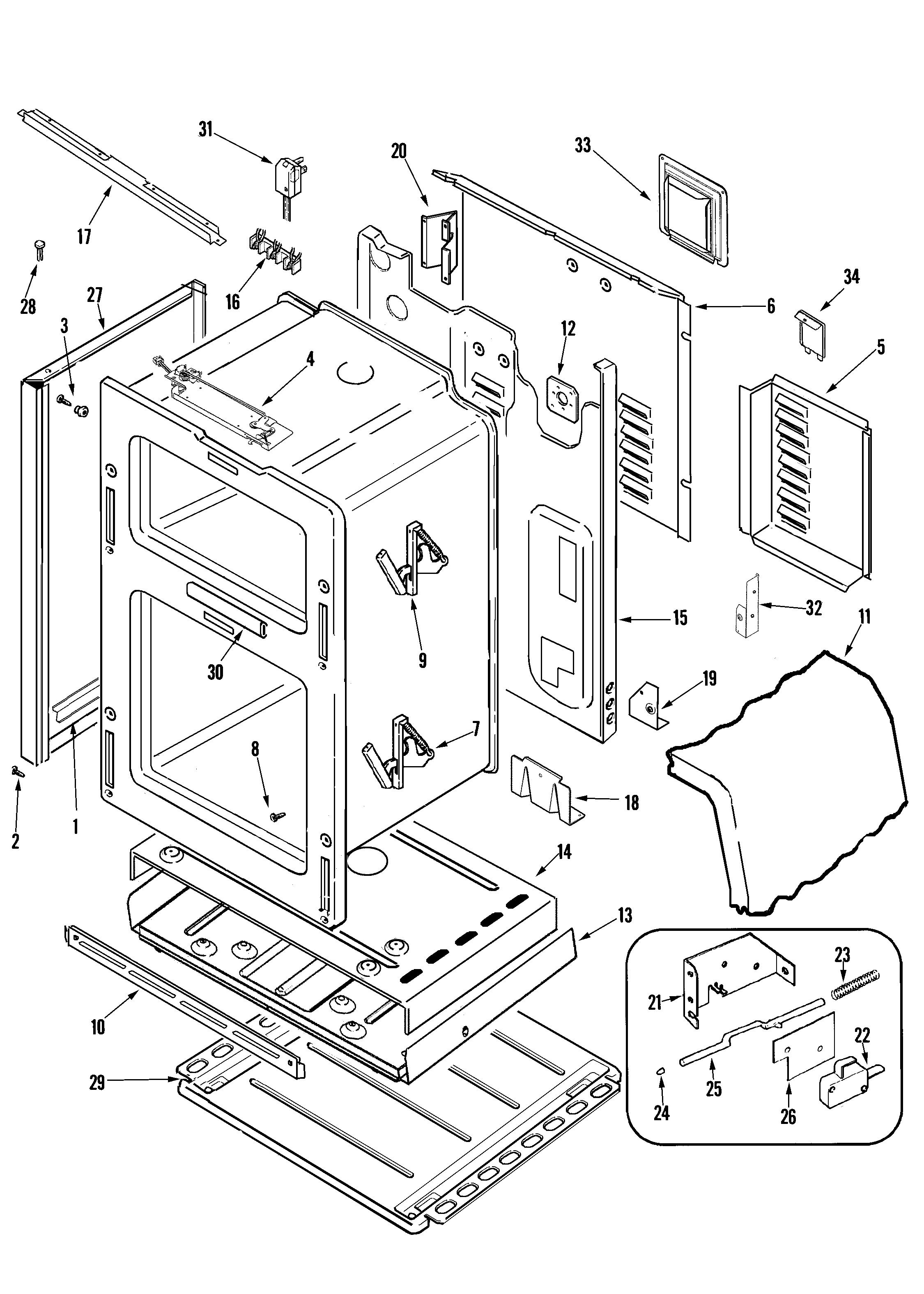 Maytag maytag cooking parts model mgr6875ads sears partsdirect charming maytag atlantis wiring diagram