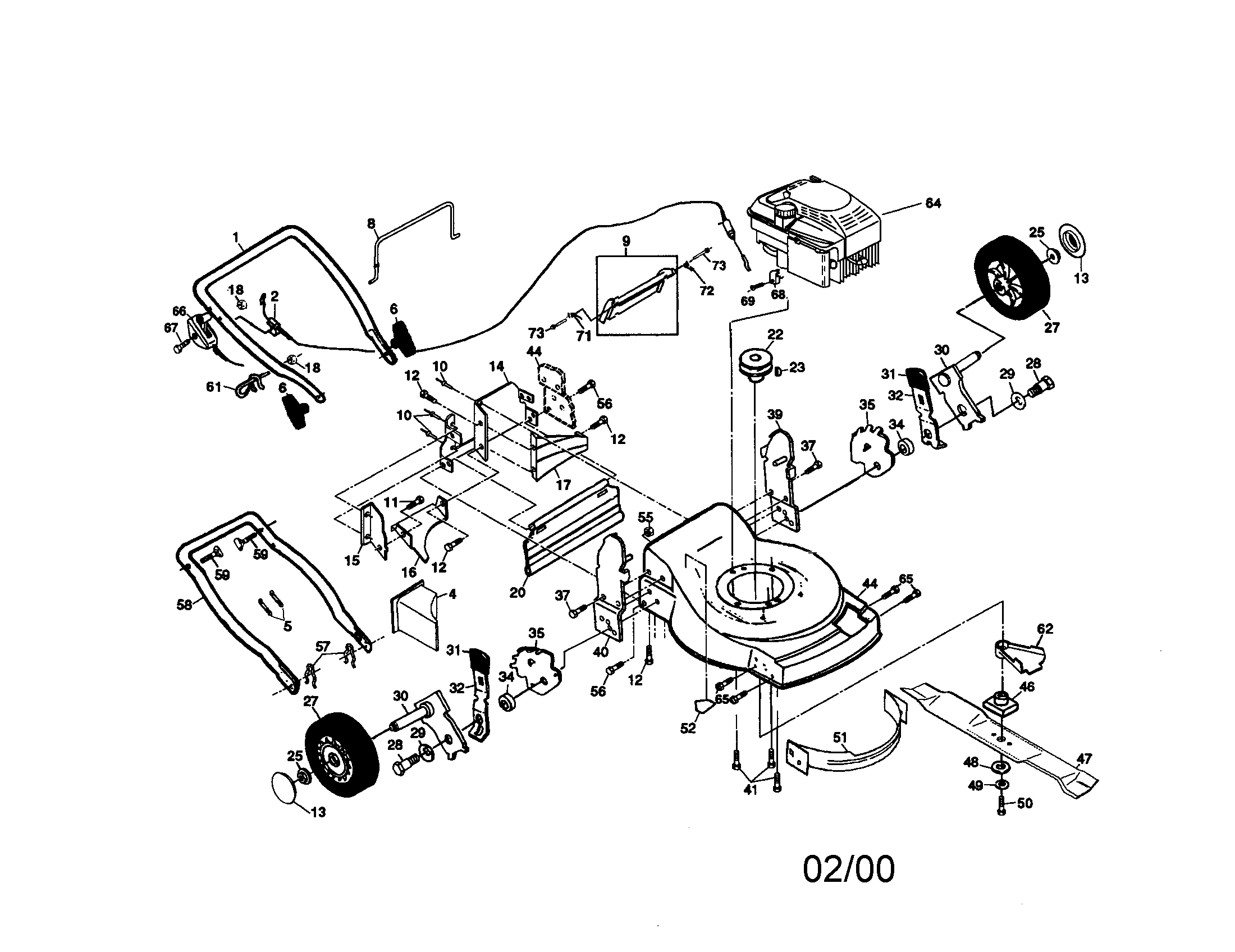 Sears Craftsman Lawn Tractor Parts Manual