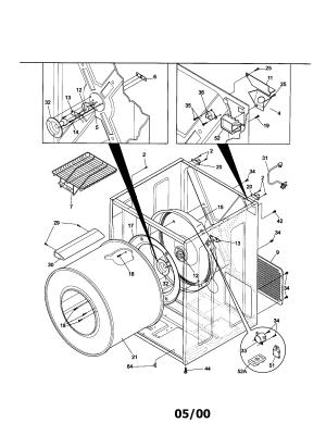 SEARS  CANADA DRYER Parts | Model 970C8005200 | Sears PartsDirect