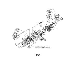 HYDRO GEAR HYDRO GEAR TRANSAXLE Parts | Model 3230510